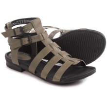 Clarks Viveca Myth Gladiator Sandals - Leather (For Women) in Sage Leather - Closeouts