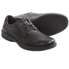 Clarks Wader Run Shoes - Leather (For Men) in Black Leather - Closeouts