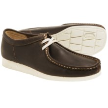 Clarks Wallabee Aerial Shoes - Leather (For Men) in Beeswax Leather - Closeouts