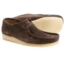 Clarks Wallabee Shoes - Suede (For Men) in Dark Brown Suede - Closeouts