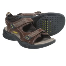 Clarks Wave Barrier Leather Sandals (For Men) in Brown - Closeouts