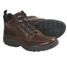 Clarks Wave.Outfit Boots - Leather, Lace-Ups (For Men) in Brown Leather - Closeouts