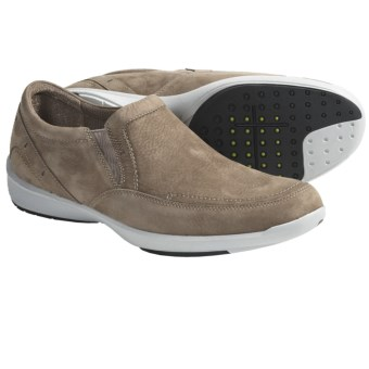 Clarks Wave.Rapid Shoes - Slip-Ons (For Men) in Off White Nubuck