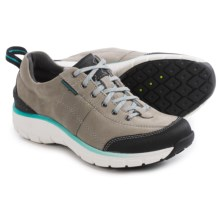 Clarks Wave.Trek Sneakers - Waterproof, Nubuck (For Women) in Grey Nubuck - Closeouts