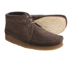 Clarks Weaver Ankle Boots - Suede (For Men) in Brown Suede - Closeouts