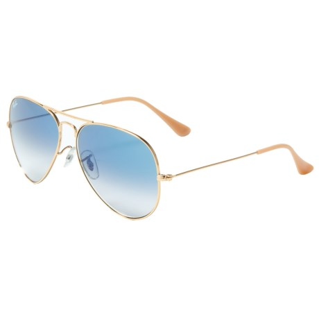 Image of Classic Aviator Gradient Sunglasses