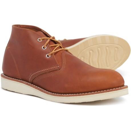 Classic Chukka Boots - Leather, Factory 2nds