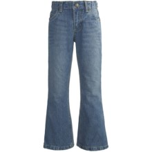 Classic Denim Elastic-Waist Jeans - Bootcut Leg (For Boys) in Light Blue - 2nds