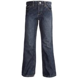 Classic Denim Straight-Leg Jeans (For Boys) in Blue