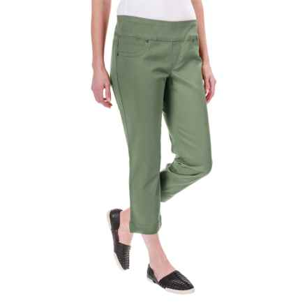 Classic Pull-On Capris (For Women) in Olive - 2nds