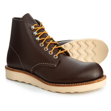 Image of Classic Round Toe Boots - Leather, 6? Factory Seconds (For Men)