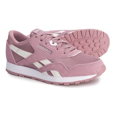 Image of Classic Suede-Nylon Sneakers (For Little and Big Girls)
