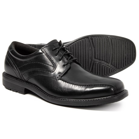 Image of Classic Tradition Bike Toe Oxford Shoes - Leather (For Men)