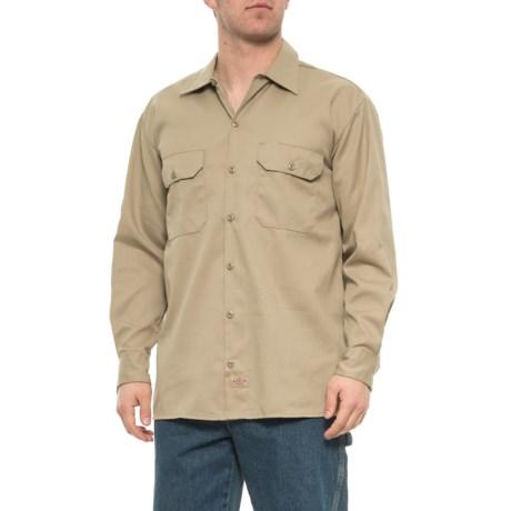 Classic Twill Work Shirt - Long Sleeve (For Men) - DESERT (3XL )