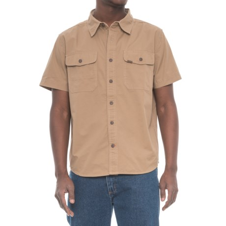 Classic Twill Work Shirt - Short Sleeve (For Men)