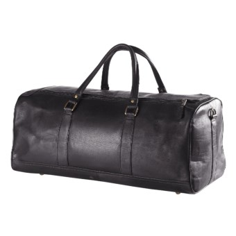 Clava Barrel Duffel Bag - Large in Black
