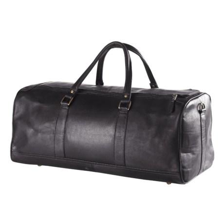 Clava Barrel Duffel Bag - Large in Black