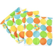 Clean House Microfiber Dishcloths - Set of 4 in Yellow Dot - Closeouts