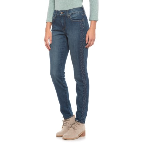 Image of Clean Oak Hill Ami Skinny Denim Leggings (For Women)