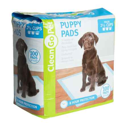 Clear Quest Puppy Training Pads - 100-Pack in See Photo - Closeouts
