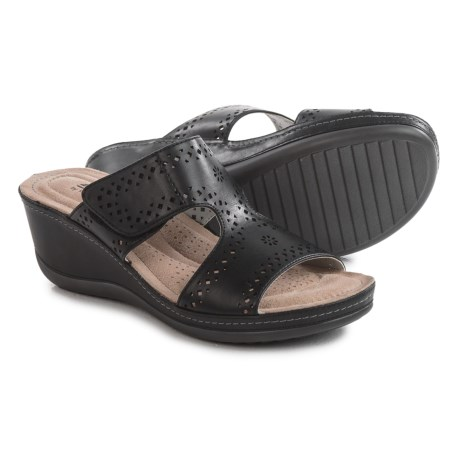 44efc9a8a13a Cliffs by White Mountain Felina Wedge Sandals (For Women) - Save 30%