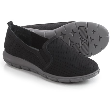 Image of Cliffs by White Mountain Florrie Shoes - Nubuck, Slip-Ons (For Women)