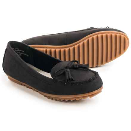 Cliffs by White Mountain Samanda Moc Shoes - Vegan Leather (For Women) in Black - Closeouts