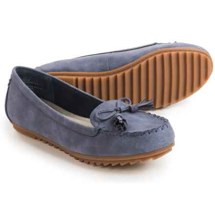 Cliffs by White Mountain Samanda Moc Shoes - Vegan Leather (For Women) in Navy - Closeouts