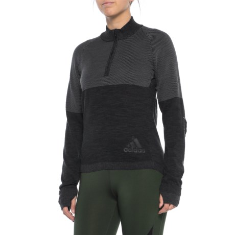 Image of ClimaHeat PrimeKnit Sweater - Zip Neck (For Women)