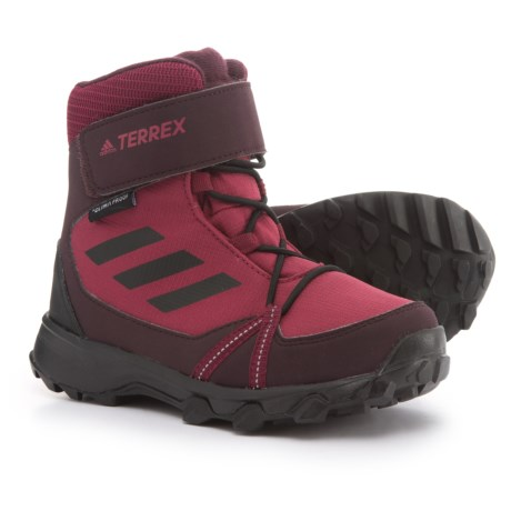 Image of ClimaProof(R) Terrex Cloudfoam(R) ClimaWarm(R) Snow Boots - Waterproof, Insulated (For Big and Little Kids)