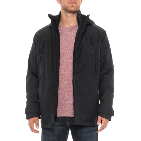 Image of Climate Hooded 3-in-1 Jacket - Waterproof, Insulated ( For Men)