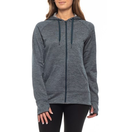 Image of ClimaWarm(R) Fleece Full-Zip Hoodie (For Women)