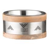 Cloe & Cluzo Mango Wood Aztec Pet Bowl - Small