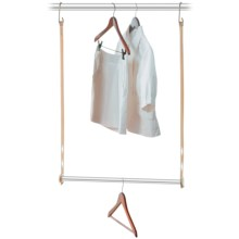 closetMAX Expandable Hanging Bar in Sand Pebble Taupe - Overstock