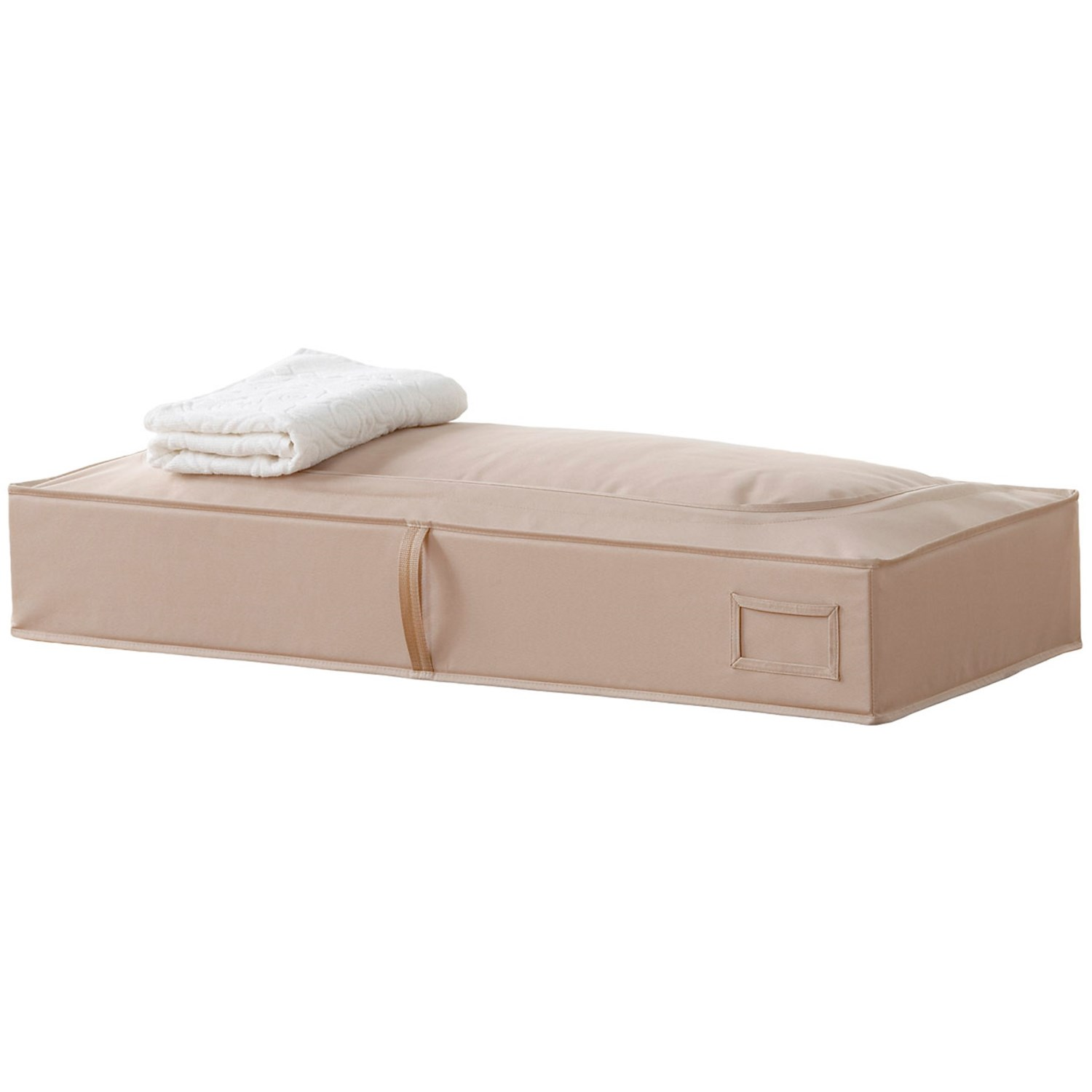 closetMAX Under Bed Storage Bag in Sand Pebble Taupe