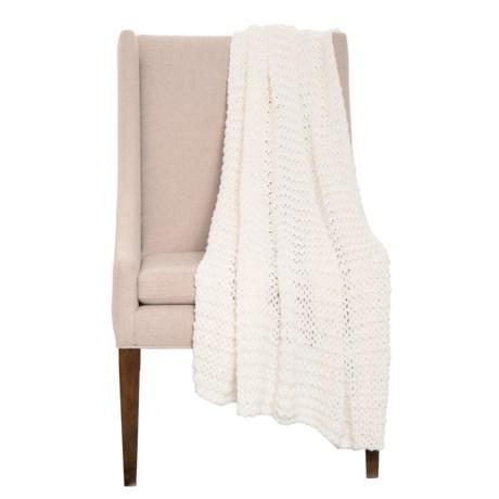 Image of Cloud Dancer Luxury Knit Throw Blanket - 50x60?