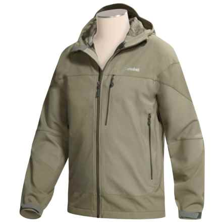 Cloudveil Black Ice Soft Shell Jacketl (For Men) in Taupe - Closeouts