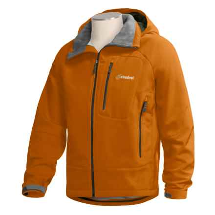 Cloudveil Boundary Jacket - Schoeller® Soft Shell (For Men) in Light Orange - Closeouts
