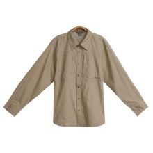 Cloudveil Cool Shirt -- Long Sleeve  (For Men) in Taupe - Closeouts
