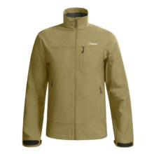 Cloudveil Inertia Peak Jacket - Soft Shell (For Men) in Covert Green - Closeouts