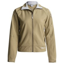 Cloudveil Inertia Peak Jacket - Soft Shell (For Women) in Covert Green - Closeouts