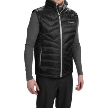 Cloudveil Mountain Series Endless Down Vest (For Men) in Black - Closeouts