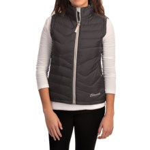 Cloudveil Mountain Series Endless Down Vest (For Women) in Black - Closeouts