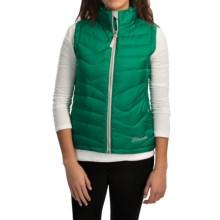 Cloudveil Mountain Series Endless Down Vest (For Women) in Rainforest - Closeouts