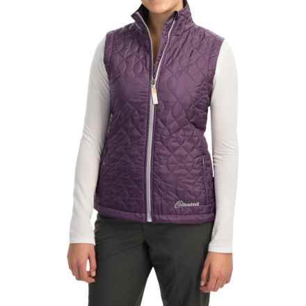 Cloudveil Pro Series Lightweight Emissive Vest - Insulated (For Women) in Royal Grape - Closeouts