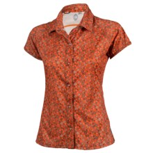 Club Ride Bandara Cycling Shirt - Short Sleeve (For Women) in Gear A Dot Tigerlilly - Closeouts