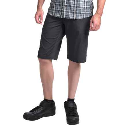 Club Ride Cargo Away Cycling Shorts (For Men) in Raven Pinstripe - Closeouts