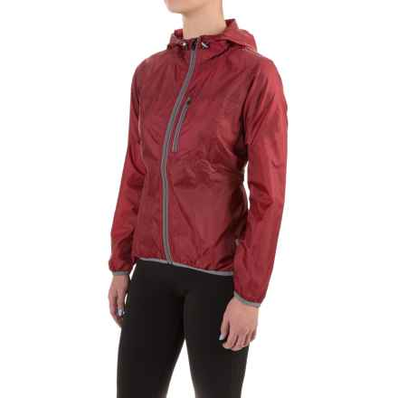 Club Ride Cross-Wind Cycling Jacket (For Women) in Biking Red - Closeouts