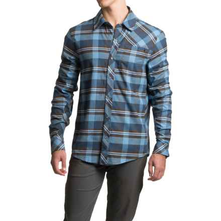 Club Ride Daniel Flannel Cycling Jersey - UPF 40, Long Sleeve (For Men) in Pacific Plaid - Closeouts