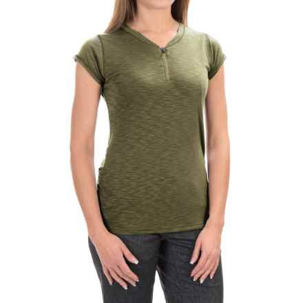 Club Ride Deer Abby Cycling Jersey - UPF 20+, Zip Neck, Short Sleeve (For Women) in Olive - Closeouts